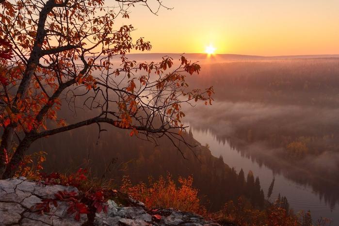 Пермский край, р. Усьва, Россия (700x466, 360Kb)