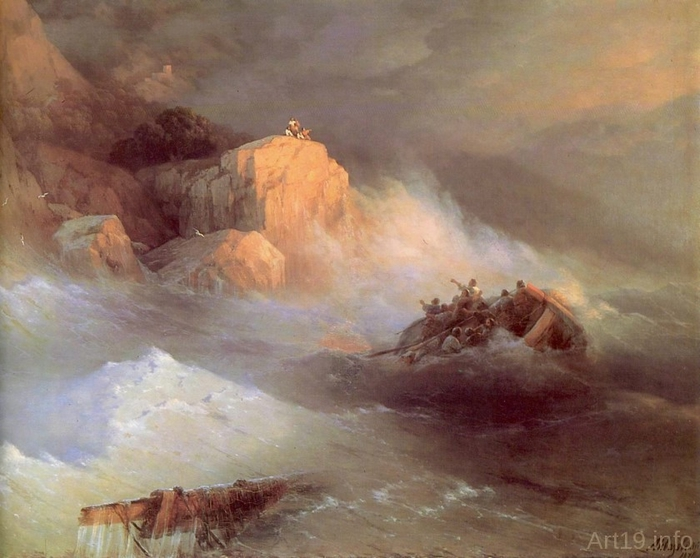 Кораблекрушение. 1876 год (2) (700x558, 244Kb)