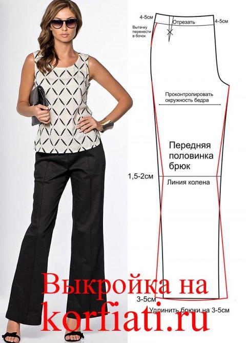 Шьем женские брюки от а до я