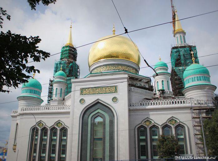 Самая большая в Европе: как выглядит соборная мечеть в Москве после реконструкции