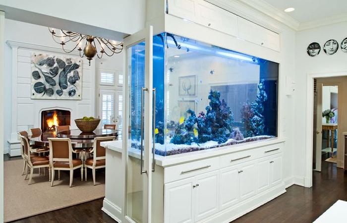 аквариум в интерьере фото 2 (700x450, 317Kb)