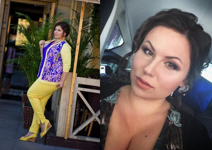 Ирина Черемых, самая красивая толстушка России