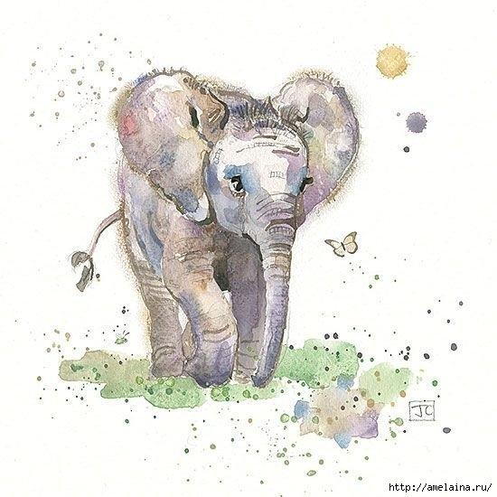 Милые рисунки  Jane Crowther3 (550x550, 140Kb)