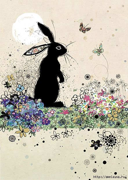 Милые рисунки  Jane Crowther7 (442x620, 228Kb)