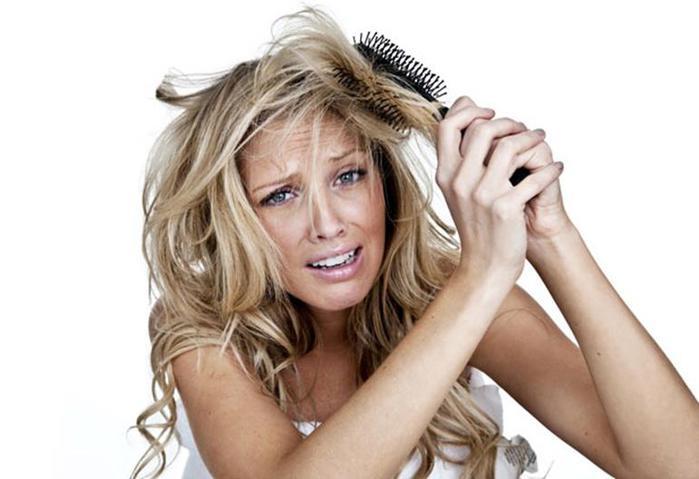 Правильный уход за обесцвеченными волосами