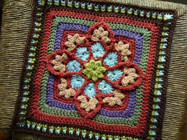 мотив вязание