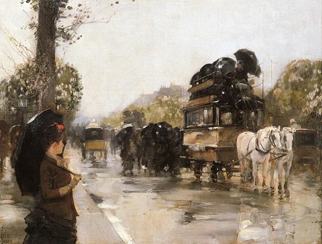 April Showers, Champs Elysees Paris (638x484, 323Kb)