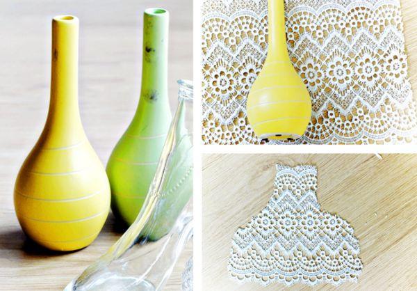 Декорирование вазочек для цветов кружевом (5) (600x418, 245Kb)