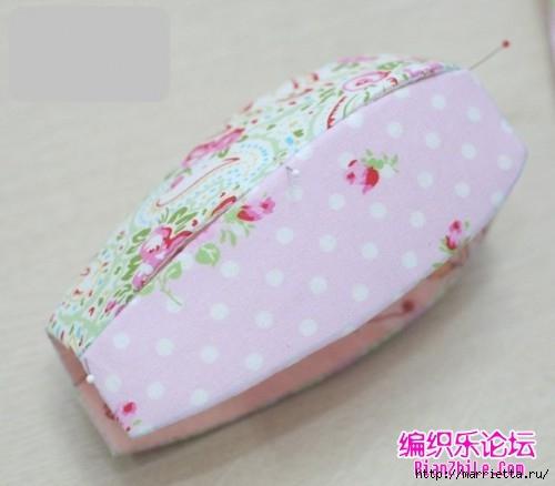 Сувенирный чайник из ткани и картона (24) (500x438, 87Kb)