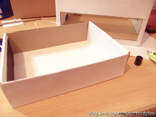 Шкатулка для бижутерии своими руками из картона (16) (530x398, 106Kb)