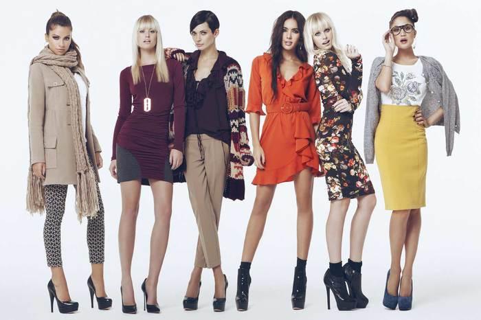 Фото модной повседневная женской одежды