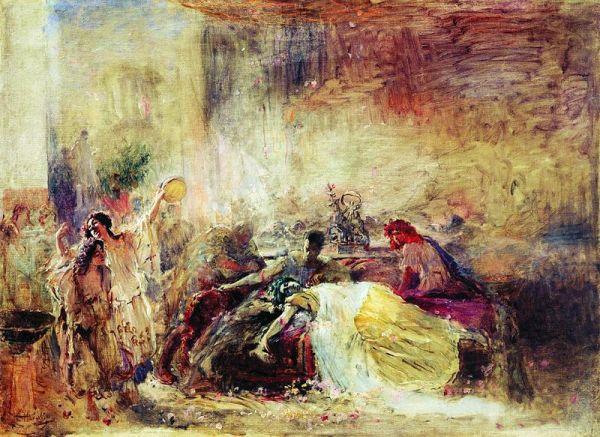 1 «Смерть Петрония». Маковский К. Е. 1904 (600x437, 300Kb)