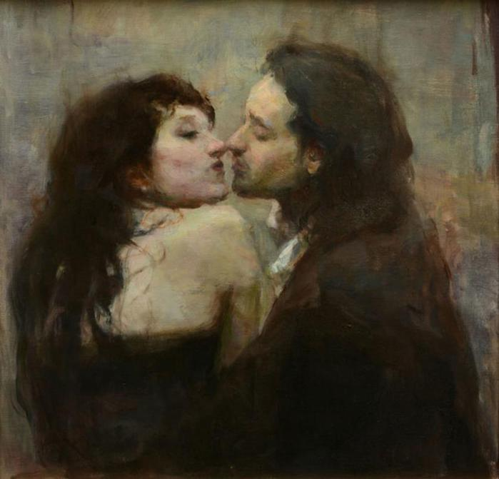 Современные художники, пишущие прекрасные картины о любви