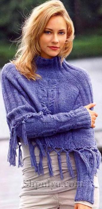 вязание спицами,