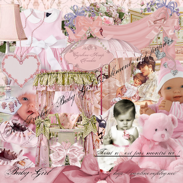 BABY-GIRL par CAJOLINE-SCRAP PREVIEW (600x600, 854Kb)