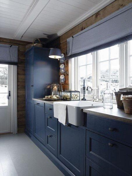 Внутренние интерьеры в норвежских домах