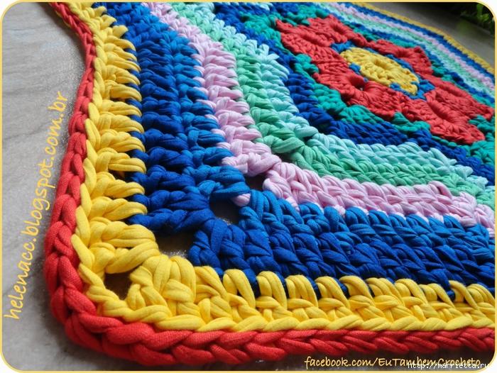 Вязание пряжей макароны 83
