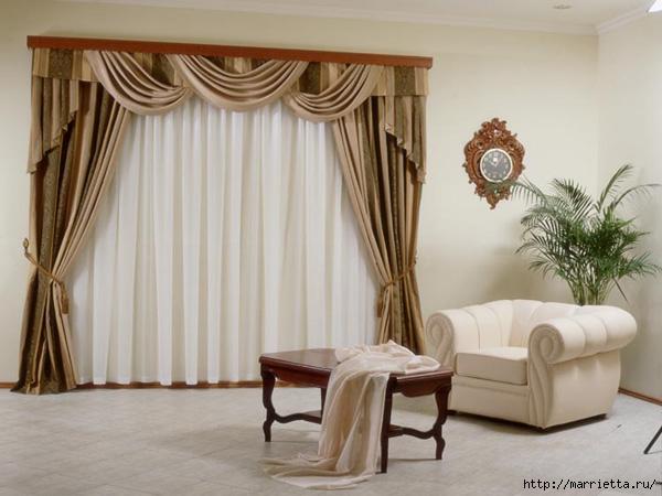 Стильные шторы – неповторимый интерьер (2) (600x450, 152Kb)