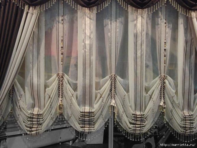 Стильные шторы – неповторимый интерьер (4) (667x500, 223Kb)