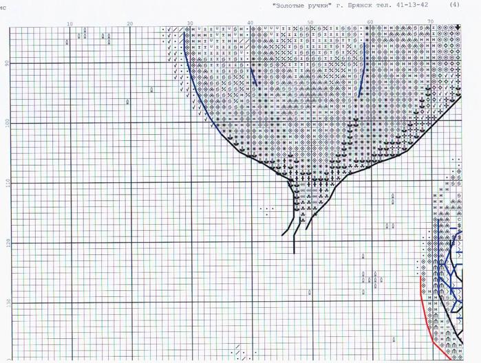 Вышивка крестом физалис схемы