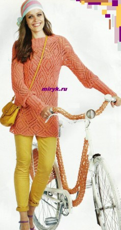 Розовый-ажурный-пуловер-ромбы-фото-237x450 (237x450, 110Kb)