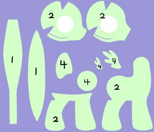 Как сделать пони из ткани