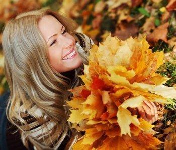 осень охапка листьев (350x300, 29Kb)