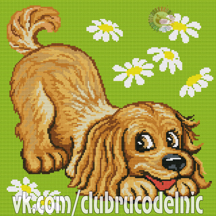 Pillow Dog (700x700, 928Kb)