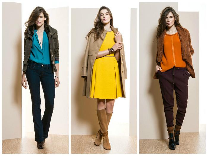 Фото Модная Женская Одежда Осени