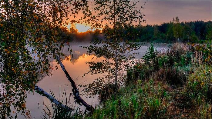 Осенний рассвет на пруду/3673959_6 (700x393, 142Kb)