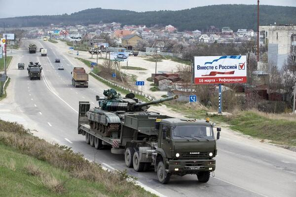 Крым, март 2014 г.