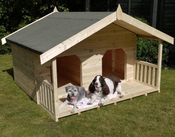 Домики для собак фото своими руками