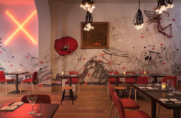 уютные ресторан в милане 7 (700x459, 381Kb)