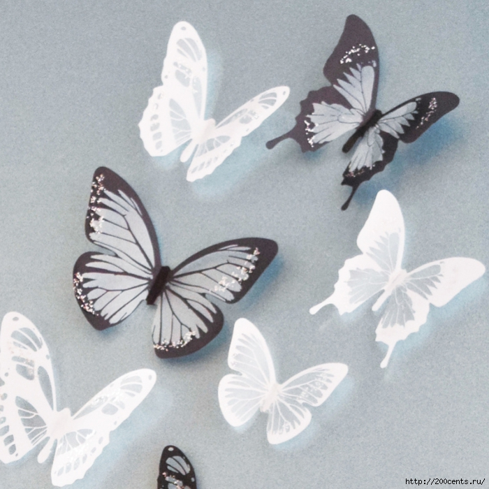 18Pcs Creative Butterflies 3D Wall Stickers PVC Removable Decors Art DIY Decorations Christmas Wedding decorations/5863438_18PcsCreativeButterflies3DWallStickersPVCRemovableDecorsArtDIYDecorationsChristmasWeddingdecorations1 (700x700, 315Kb)