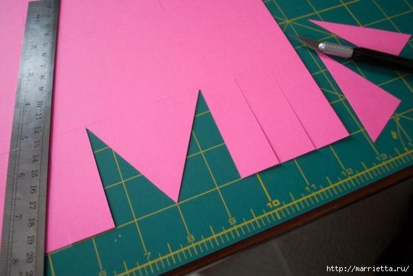 Корзинка из цветной бумаги своими руками (5) (600x402, 96Kb)