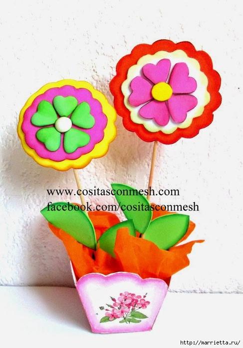 Бумажные цветы для детского подарка к 8 марта (13) (487x700, 221Kb)