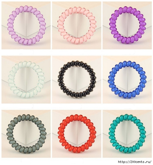 5Pcs Colors Telephone Wire Hair Accessories Hair Ring Rope Traceless Women Gum Elastic Candy Colored Headdress Tools/5863438_5PcsColorsTelephoneWireHairAccessoriesHairRingRopeTracelessWomenGumElasticCandyColoredHeaddress3 (524x564, 200Kb)