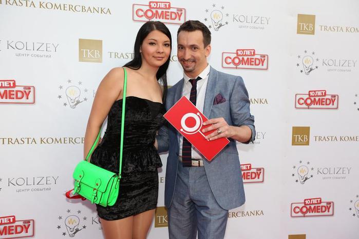 Прекрасные жены и подруги резидентов Comedy Club