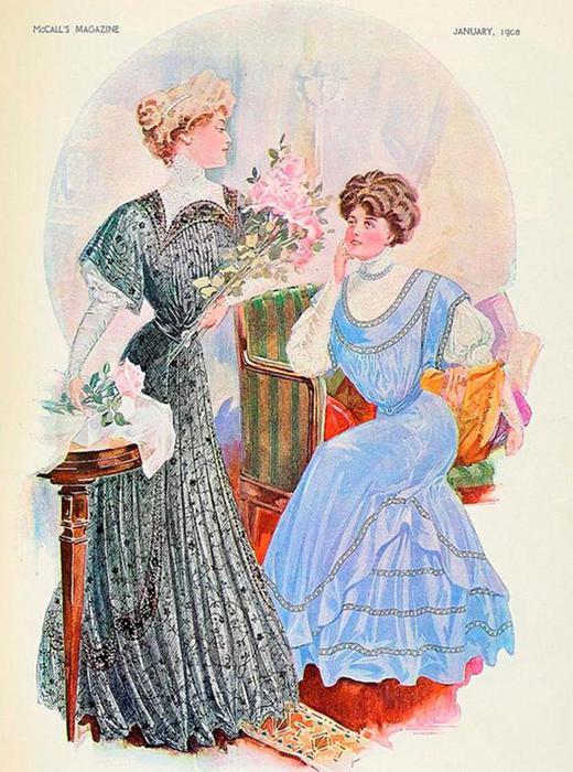 125567564 101215 1021 3 Мода и стиль в 1908 1914   эпоха Поля Пуаре