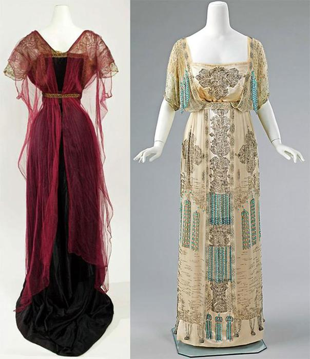 125567568 101215 1021 7 Мода и стиль в 1908 1914   эпоха Поля Пуаре