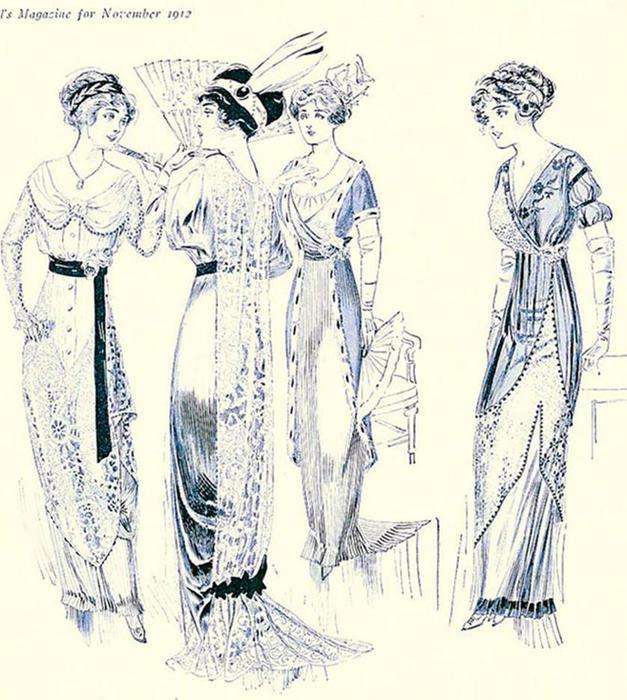 125567578 101215 1021 15 Мода и стиль в 1908 1914   эпоха Поля Пуаре