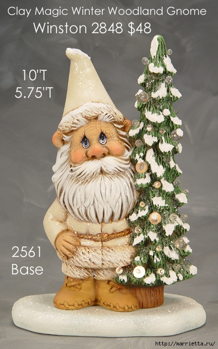 Из полимерной глины. Идеи новогодних подарков (13) (437x700, 274Kb)