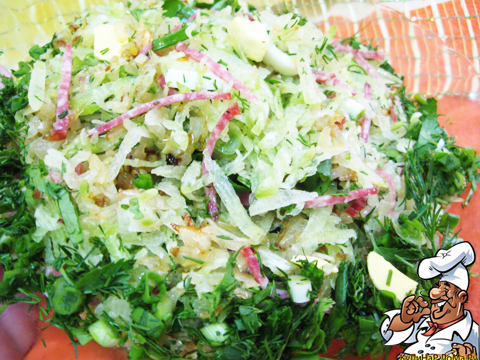 салат с редькой и колбасой (480x360, 340Kb)