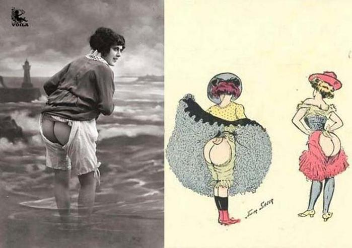 125607636 101415 1202 2 Дамское нижнее бельё второй половины XIX века: «аморальные» батистовые панталоны