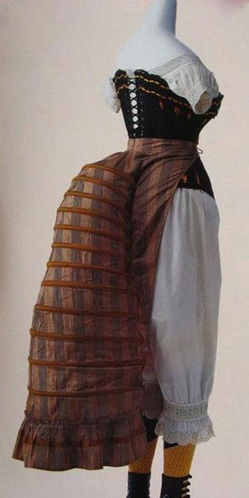 125607644 101415 1202 10 Дамское нижнее бельё второй половины XIX века: «аморальные» батистовые панталоны