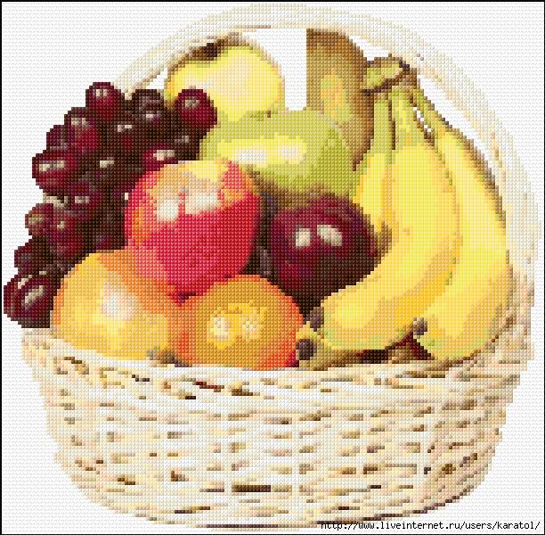 Fruit Basket-1831-O-Free-Design (612x600, 420Kb)