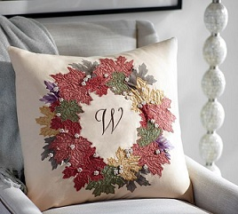 pottery-barn-leaf-wreath-pillow2 (268x241, 68Kb)