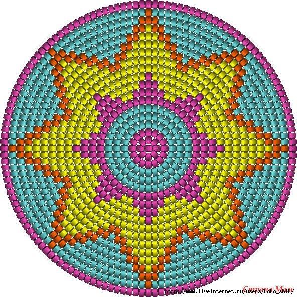 Схемы жаккард крючком - 4 (592x592, 422Kb)