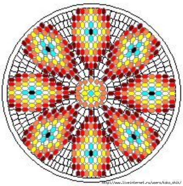 Схемы жаккард крючком - 12 (595x606, 224Kb)