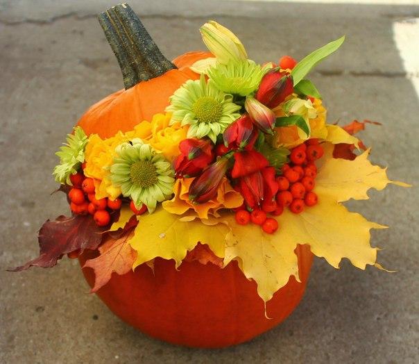 Осенний букет или поделка